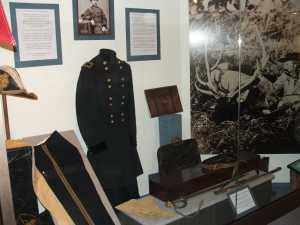 Custer Trevillian Station Exhibit, Monroe County Historical Museum