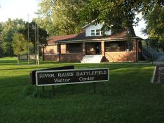 River Raisin Battlefield Visitors center soon to become a National Park