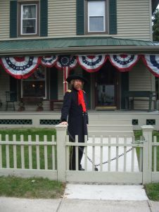 Acclaimed living historian Steve Alexander leads Custer's Monroe walking tour