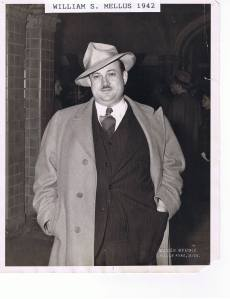 1942 photo of Mellus Newspapers founder William Mellus