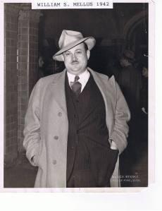 1942 photo of Mellus Newspapers founder William Mellus