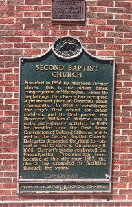 Second Baptist Church Detroit
