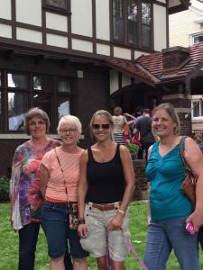 Liz, Julie, Nicole Curtis