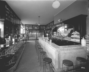 Old style Detroit soda parlor